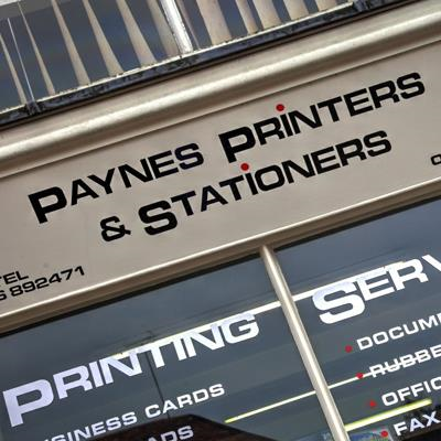 Paynes Printers & Stationers